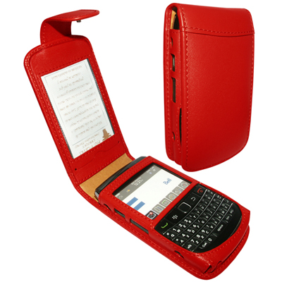 Чехол для BlackBerry Bold 9700 Piel Frama 473 Red Leather Case