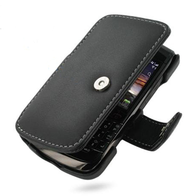 Чехол для BlackBerry Bold 9700 PDair Black Leather Book-Style Case