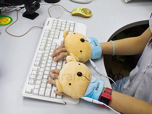 USB перчатки мишка купить