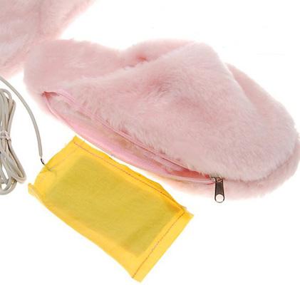 USB тапочки с подогревом женские купить