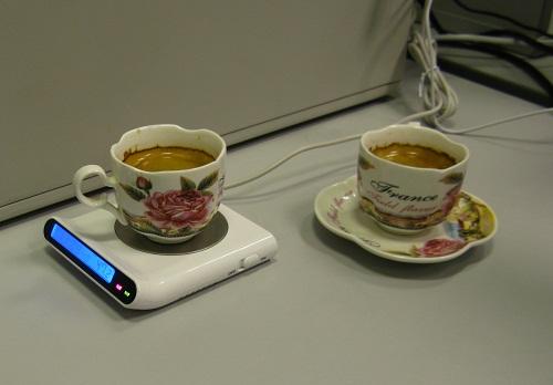 Эксперимент с кофе