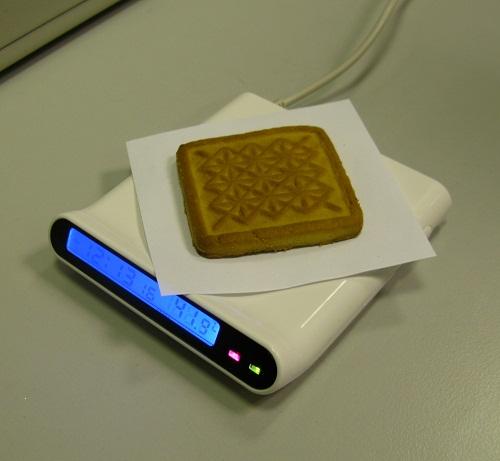 USB нагреватель и печенька