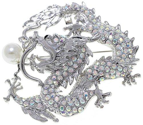 брошка-дракон украшение - символ года в подарок