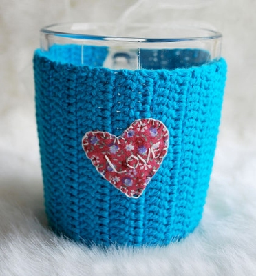 Бокалы для глинтвейна. Чашка синяя
