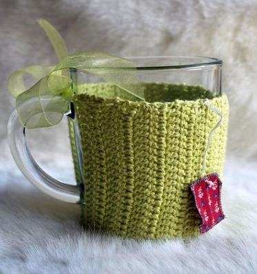 Бокалы для глинтвейна. Чашка зеленая