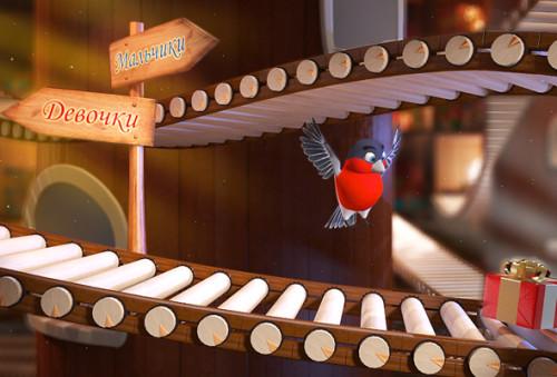 Personazh videopis'ma ptichka