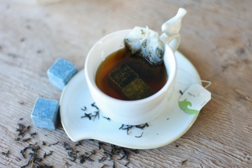 You may do cold tea with viskey stones